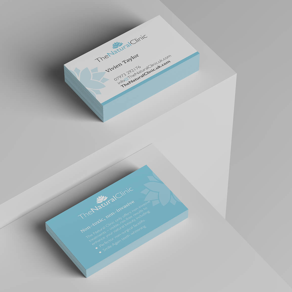 The Natural Clinic Business Cards