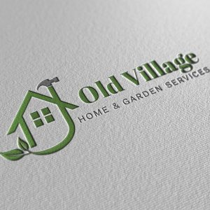 Garden services logo design