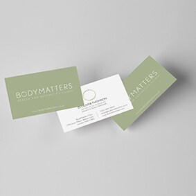 Body Matters Business Cards