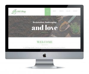 Garden Services website
