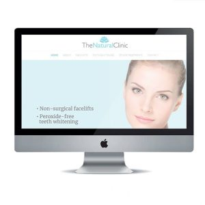 Beauty Clinic website