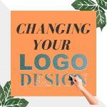 What happens if I change my logo