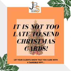 It's not too late to send Christmas Cards