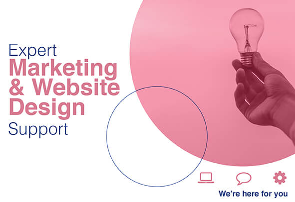 Expert Marketing and website design support